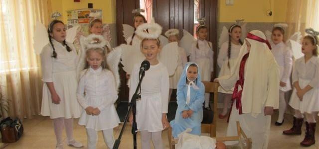 Występ dzieci ze Stołeczna – Boże Narodzenie