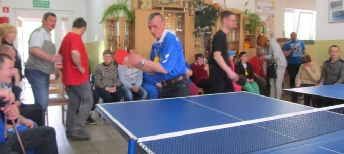 Turniej Tenisa Stołowego dla Osób Niepełnosprawnych