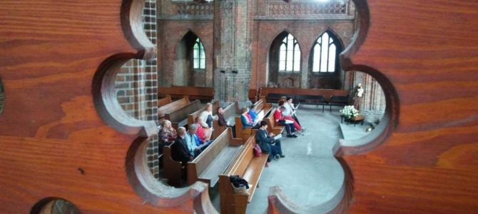 Wycieczka do katedry w Chojnie